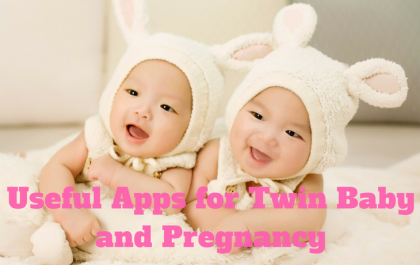 Useful Apps for Twin Baby and Pregnancy