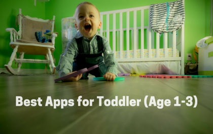 Best Apps for Toddler (Age 1-3)