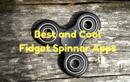Best and Cool Fidget Spinner Apps