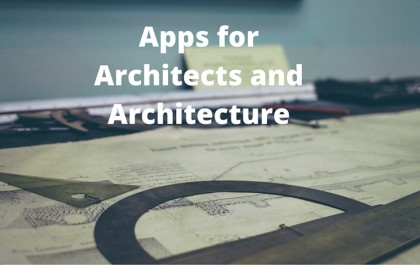 Apps for Architects and Architecture
